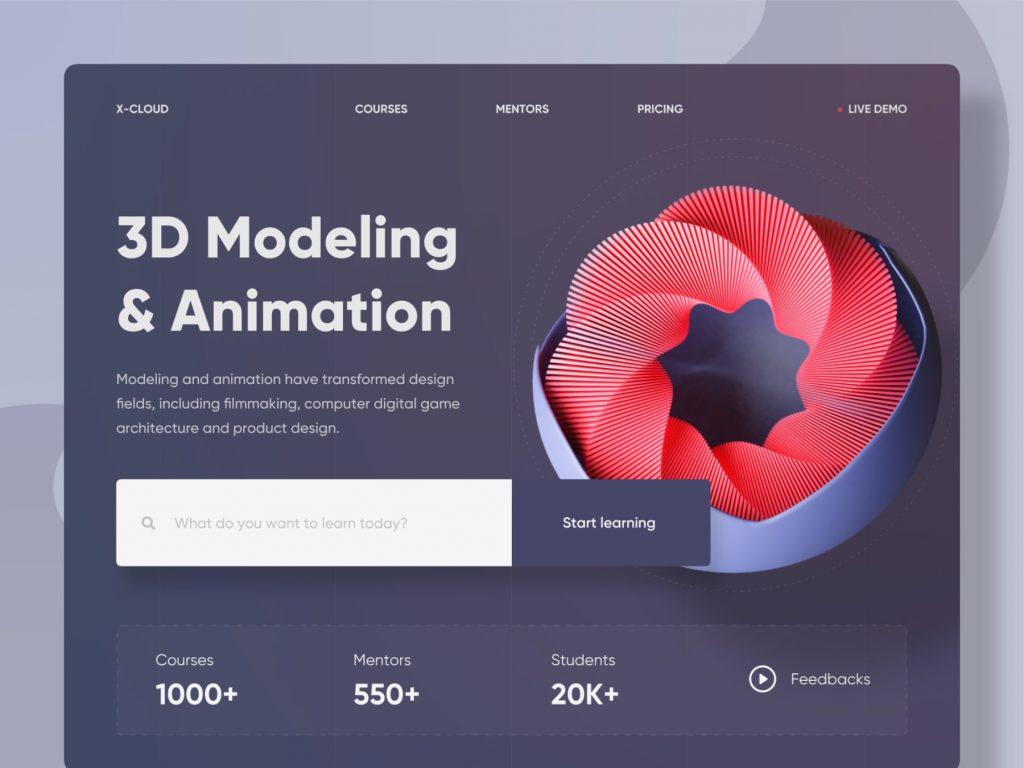 3D web X Cloud