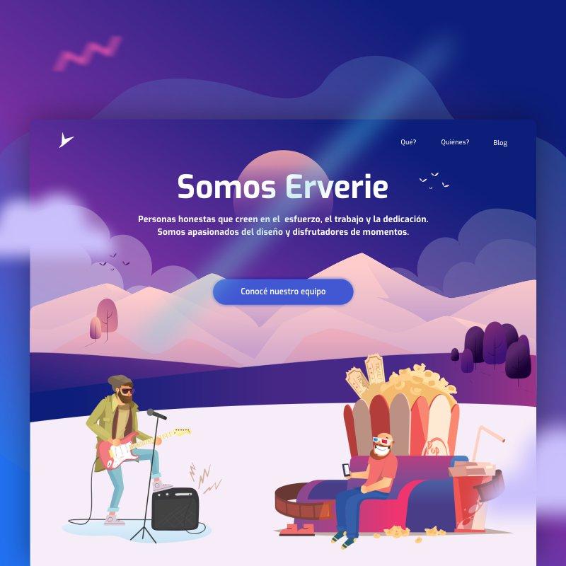 Ilustraciones web Erverie 2